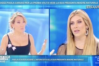 """Paola Caruso e la presunta madre biologica, la showgirl """"abbandonata perché creduta morta"""""""