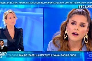 """Domenica Live, Ivana piange: """"Mauro Icardi per Wanda Nara è un bancomat, io non voglio i suoi soldi"""""""