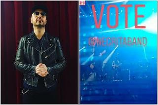 Sanremo 2019, Joe Bastianich in giuria d'onore ma su Instagram invita a votare Negrita