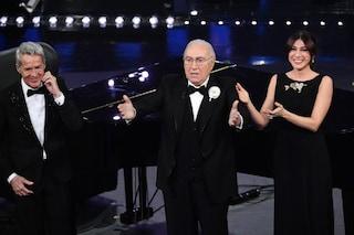Pippo Baudo, il più amato di Sanremo: anche da ospite il presentatore è amatissimo
