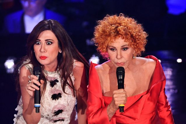 Virginia Raffaele e Ornella Vanoni (LaPresse)