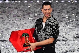 """Il vincitore del Festival di Sanremo 2019 è Mahmood con """"Soldi"""""""