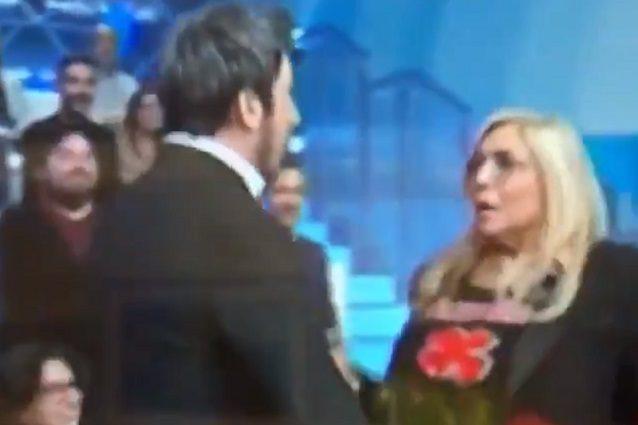 Paolo Ruffini spaventa Mara Venier,