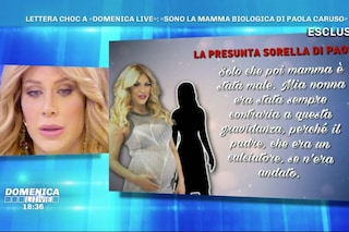 """""""Non ti ho abbandonato, pensavo fossi morta"""": parla la presunta madre biologica di Paola Caruso"""