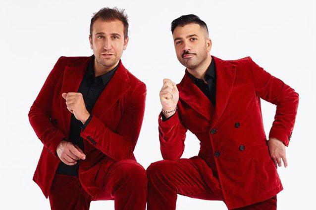 Pio e Amedeo, i comici sul palco del Festival di Sanremo 2019