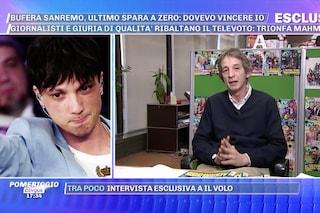 """Ultimo 'furibondo' dopo Sanremo: """"Si sarebbe fatto male a una mano dopo aver dato un pugno al muro"""""""