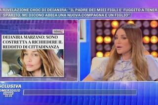 """Deianira Marzano chiede il reddito di cittadinanza: """"Il padre dei miei figli non paga gli alimenti"""""""