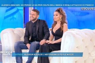 """Alessia Macari annuncia: """"Sposo Oliver Kragl a maggio"""". Poi piange per il nonno scomparso"""