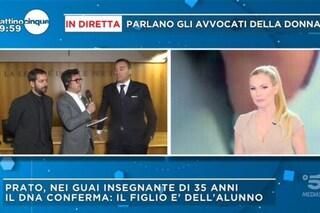 """Panicucci al legale della prof di Prato: """"Ha figli?"""", le sfugge che chiunque ha diritto alla difesa"""