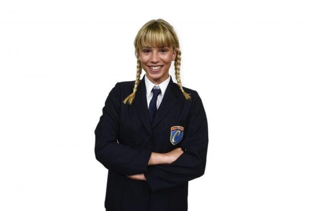 """Alice De Bortoli, 15 anni, studentessa de """"Il Collegio 3"""""""