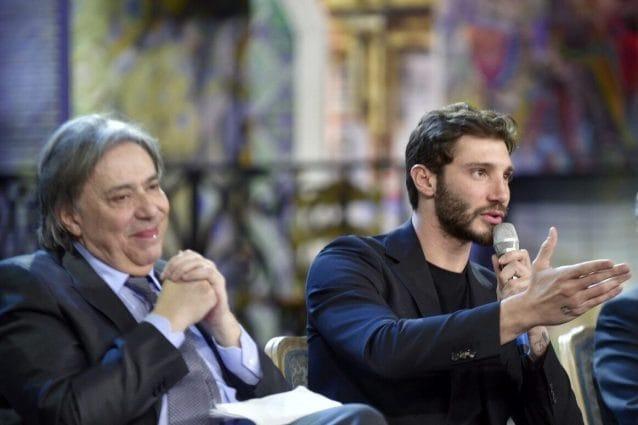 """Carlo Freccero e Stefano De Martino alla conferenza di presentazione di """"Made in Sud"""""""