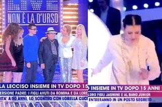 Al Bano e Loredana Lecciso insieme da Barbara D'Urso, Carla Fracci cade in diretta