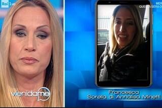 """Annalisa Minetti in lacrime per la sorella, anche lei non vedente: """"Le ho insegnato l'autonomia"""""""