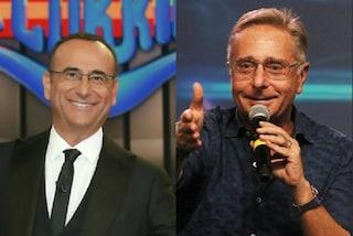 """Ascolti tv 12 aprile 2019: """"Ciao Darwin 8"""" cala ma vince, """"La Corrida"""" in crescita"""