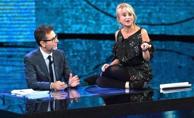 Matteo Salvini contro Fabio Fazio: