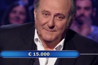 Chi vuol essere milionario, Gerry Scotti in lacrime dopo aver aiutato un concorrente