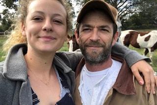 """Morto Luke Perry, la figlia Sophie rompe il silenzio: """"Grazie a tutti per il vostro amore"""""""