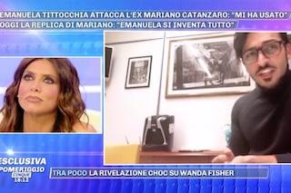 """Mariano Catanzaro si difende dalle accuse di Emanuela Tittocchia: """"Sta mentendo, non sono violento"""""""