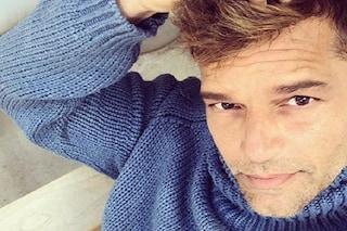 """Ricky Martin è arrivato a Roma per Amici: """"La mia casa per le prossime 7 settimane"""""""