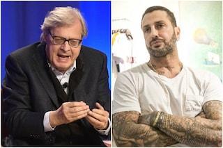 """Vittorio Sgarbi dalla parte di Fabrizio Corona: """"Inaccettabile il carcere per la sfera morale"""""""