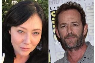 """Luke Perry ancora in ospedale, Shannen Doherty: """"Sono in contatto con lui, è il mio Dylan"""""""