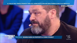 """Franco Terlizzi: """"Mio figlio Michael non è gay, è insicuro per la malformazione al braccio"""""""