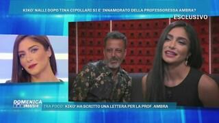 """Ambra Lombardo: """"Penso spesso a Kikò Nalli, mi piace"""", poi si commuove per la sua lettera d'amore"""