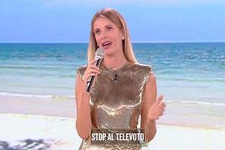 Alessia Marcuzzi dice addio all'Isola dei Famosi, sarà la conduttrice de Lo Show dei Record