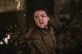 Game of Thrones 8x03, Arya sei la Nazionale del 2006: esultare come per un gol sul finale