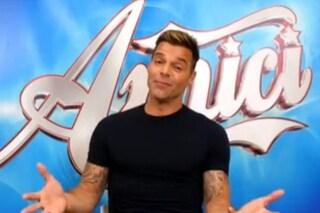 Ricky Martin assente nella quinta puntata di Amici 2019, sarà impegnato con la sua fondazione