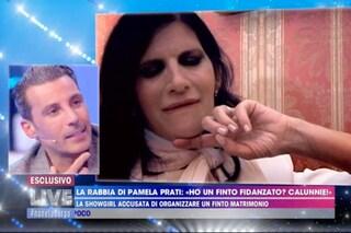 """Dubbi su Mark Caltagirone, Pamela Prati piange: """"È tutto vero"""" matrimonio in esclusiva a Verissimo"""