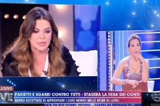 """Alba Parietti contro Barbara D'Urso per il caso De André: """"Ho visto soffrire persone cui tengo"""""""