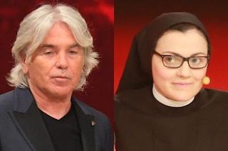 """Ivan Zazzaroni polemico per l'assenza di Suor Cristina, in convento per Pasqua: """"Non la voto"""""""