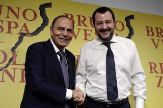 Dietro la fake news dell'aereo c'è Matteo Salvini: le scuse di Bruno Vespa a Michele Anzaldi