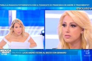 """Rosi, presunta amante del compagno di Francesca De Andrè: """"Non sono mai salita a casa con lui"""""""