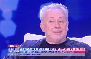 """Lele Mora: """"Tra me e Fabrizio Corona ci sono stati una grande passione e un grande amore"""""""