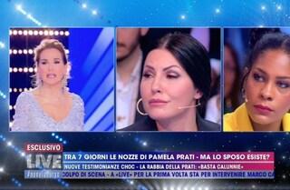 """Marco Caltagirone chiama in diretta tv: """"Io e Pamela Prati ci sposiamo"""""""