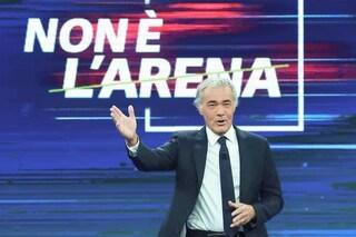 """""""Non è l'Arena"""" in piazza contro la mafia, Giletti in diretta da Mezzojuso per le sorelle Napoli"""