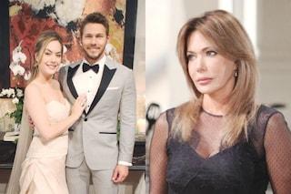 Beautiful, anticipazioni 3 - 7 giugno: Hope e Liam sposi, il gesto di Taylor per impedire le nozze