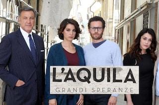 'L'Aquila - Grandi speranze': dopo il flop la fiction lascia Rai1, andrà in onda su Rai3