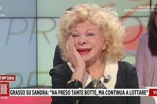 """Sandra Milo: """"Tolto il blocco su quello che guadagno, avevo pensato di uccidermi"""""""