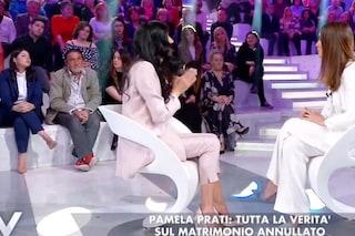 """""""Una barzelletta che non fa più ridere"""", Silvia Toffanin sul caso Pamela Prati-Mark Caltagirone"""