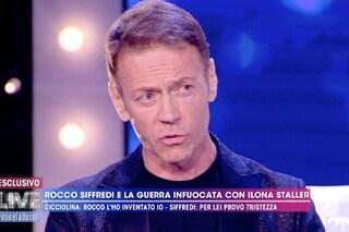 """Rocco Siffredi: """"Cicciolina non è una vera pornostar ma le chiedo scusa"""""""