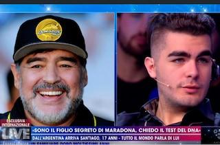 """Santiago Lara, il figlio segreto di Maradona: """"Ho chiesto il test del Dna, voglio sapere chi sono"""""""