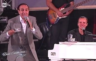 """Gigi d'Alessio e quel ricordo con Pippo Baudo: """"Molti non vollero venire al mio concerto, lui sì"""""""