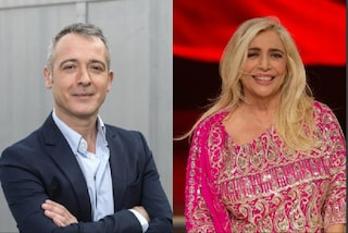 """Mara Venier benedice Pierluigi Diaco, telefona in diretta a """"Io e Te"""" e il conduttore si commuove"""