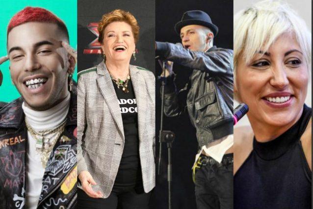 X Factor 13, ecco i nuovi giudici: Sfera Ebbasta, Malika Ayane, Samuel (e la conferma di Mara Maionchi)
