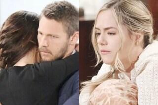 Beautiful, anticipazioni 17 - 21 giugno: Steffy dice a Liam di amarlo, Hope rischia di abortire