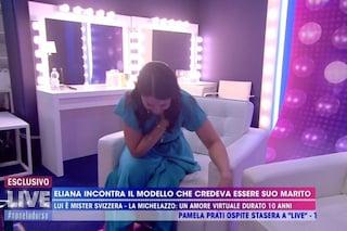 """Eliana Michelazzo incontra il finto Simone Coppi e crolla: """"Mi vergogno, togliete le telecamere"""""""