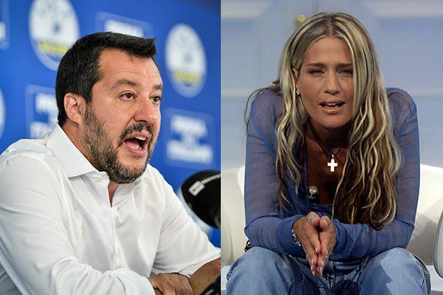 Salvini commenta il Grande Fratello: l'attacco di Heather Parisi